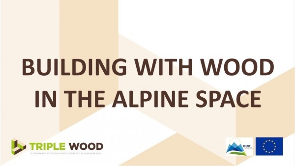 Building with wood in the alpine space