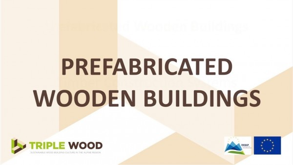 Prefabricated wooden buildings
