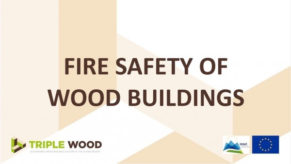 Fire safety of wood buildings