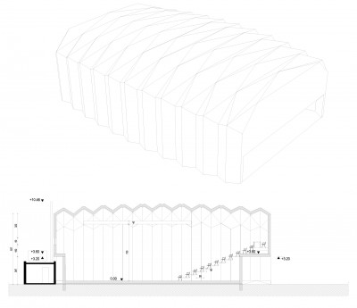 Cross Section, Isometric Drawings